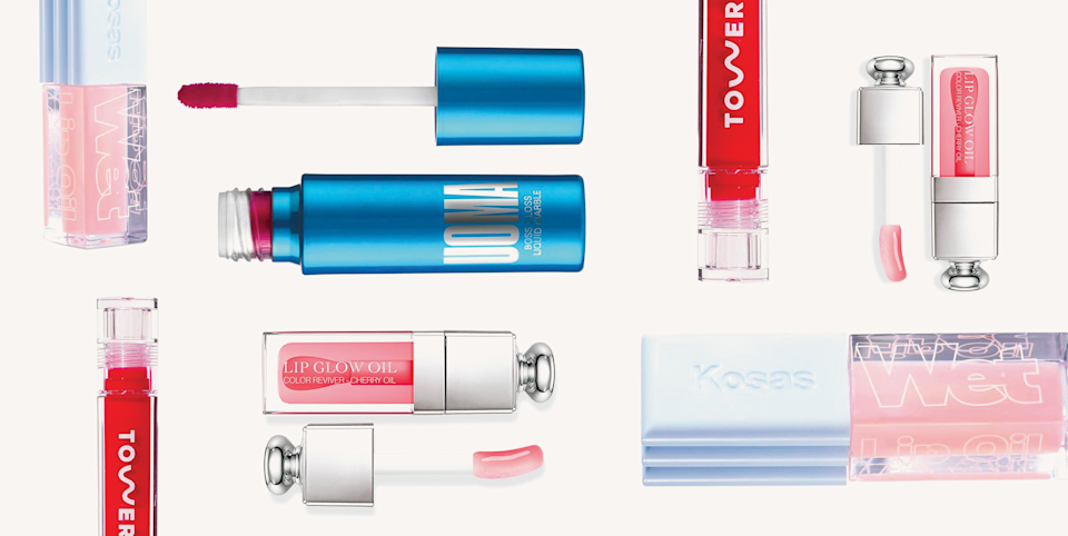 """<p class=""""body-dropcap"""">I know, I know: Lip gloss tends to get a bad rap for feeling super sticky and <em>very</em> early 2000s. But TBH, I'm still obsessed with it! And no, I'm not living in the past (even though I've definitely been reminiscing over my ~youth~ with Disney+). <strong>T</strong><strong>he lip glosses of 2021 are actually nothing like their sticky, thick, gloopy counterparts of your childhood. </strong>Nope, instead, today's glosses are shiny but non-sticky, have shockingly lightweight finishes, keep your lips hydrated and soft after just one coat, and can even <a href=""""https://www.cosmopolitan.com/style-beauty/beauty/advice/g3071/fuller-lips/"""" rel=""""nofollow noopener"""" target=""""_blank"""" data-ylk=""""slk:give your lips a fuller, plumper appearance"""" class=""""link rapid-noclick-resp"""">give your lips a fuller, plumper appearance</a>—all without feeling like a layer of glue. Here, the 17 absolute best lip glosses you need in your bag (and your desk and your car) ASAP. </p>"""