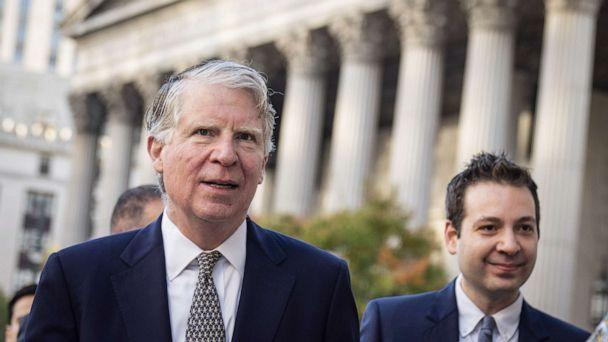 PHOTO: Manhattan District Attorney Cy Vance arrives at federal court for a hearing related to President Donald Trump's financial records, Oct. 23, 2019, in New York City. (Drew Angerer/Getty Images)