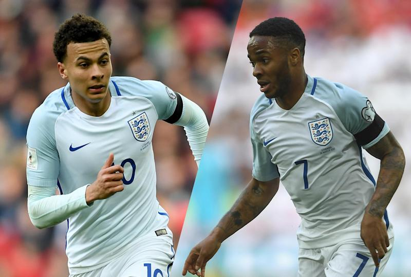 Dele Alli and Raheem Sterling will both be world class players by 2020: Getty