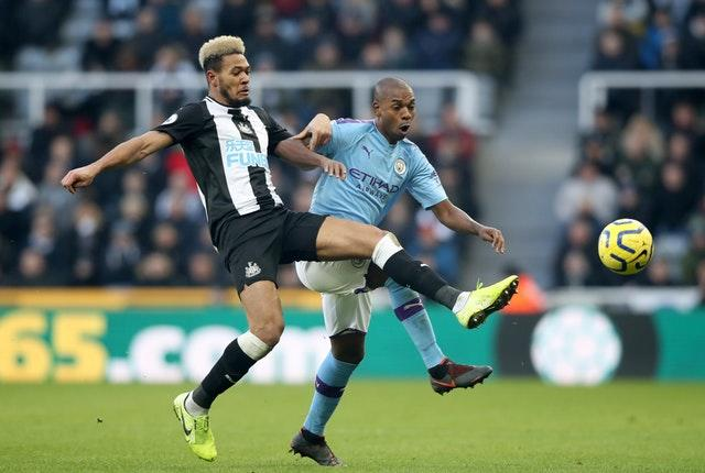 Fernandinho has impressed in the heart of the City defence (Owen Humphreys/PA)