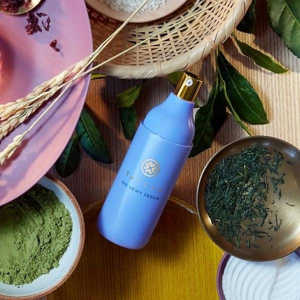 <p>Get the dewy glow everyone's after with this new <span>Tatcha The Dewy Serum Resurfacing and Plumping Treatment</span> ($88).</p>