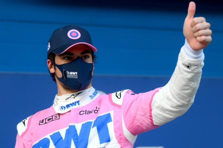 Thumbs up for Lance Stroll