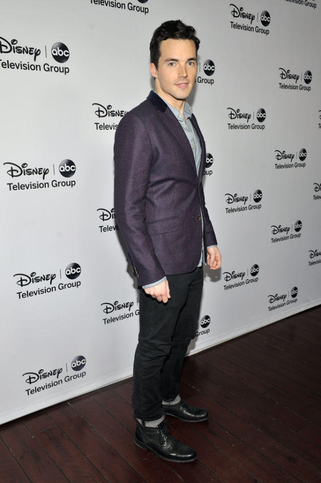 "Ian Harding (""Pretty Little Liars"") attends the Disney ABC Television Group 2013 TCA Winter Press Tour at The Langham Huntington Hotel and Spa on January 10, 2013 in Pasadena, California."