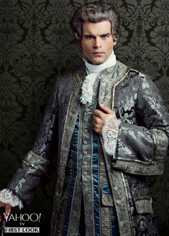<p>Claire's medical knowledge and tendency to meddle gets her started off on the wrong foot with another Court member, wine merchant Le Comte St. Germain (Stanley Weber), who is also based on a real person. Shortly after landing in France, Claire costs him an entire shipload of goods when she very vocally diagnoses several crew members with small pox and she may very well have made an enemy for life. </p><p><i>(Credit: Jason Bell/Starz)</i></p>