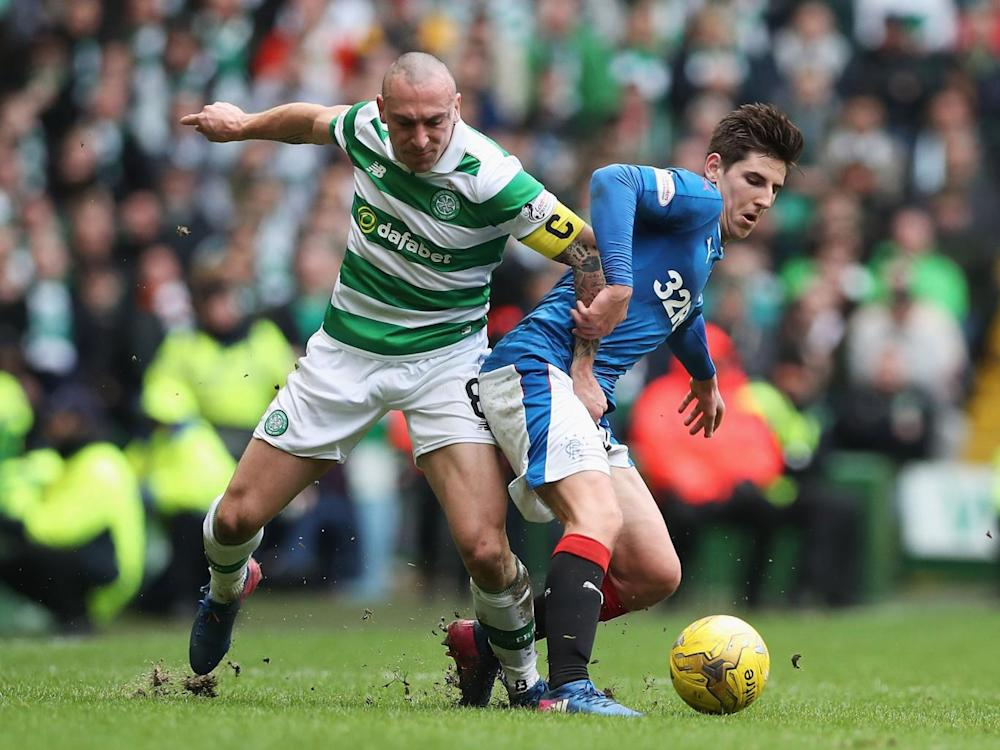 Brown is known for his aggression on the pitch (Getty)