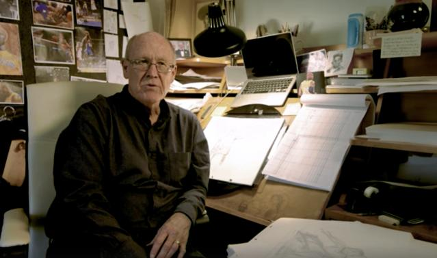Legendary Disney animator Glen Keane earned his first Oscar nomination for <i>Dear Basketball</i>. (Image: go90)