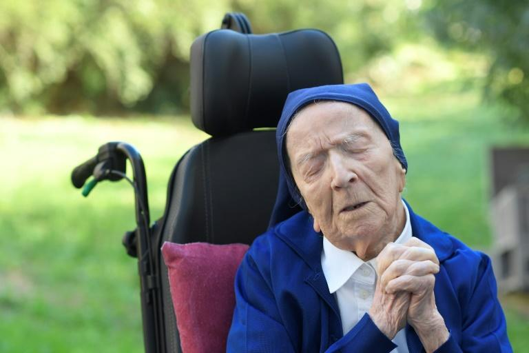 French nun and coronavirus survivor Sister Andre, who turned 117 on Thursday, is a loyal Vatican Radio listener