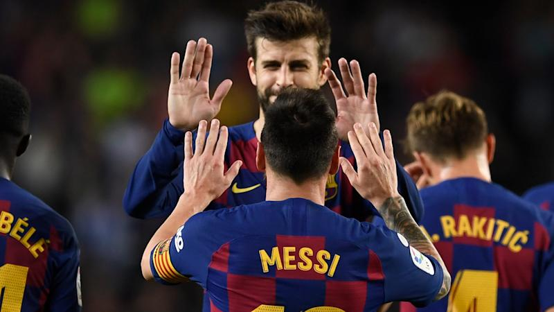 Pique: I would pick Messi over Maradona because of his consistency