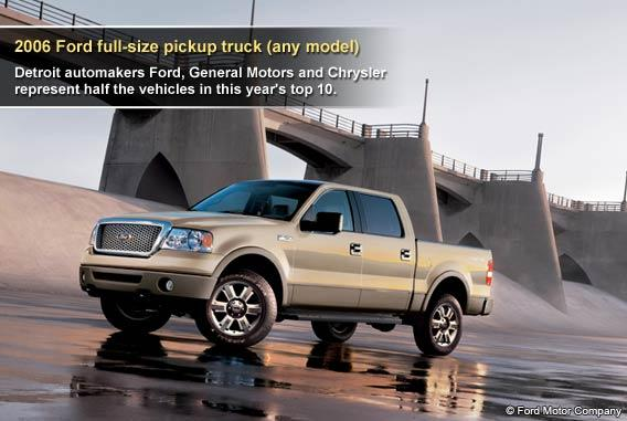 2006 Ford full-size pickup truck (any model)