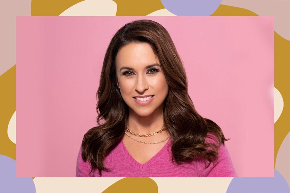 lacey chabert hair care routine