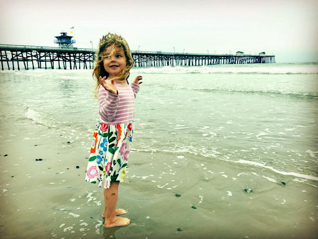 Musician Andrew McMahon's 3-year-old daughter gave him a heartwarming message for his 35th birthday, something that can benefit us all. (Photo: Instagram)