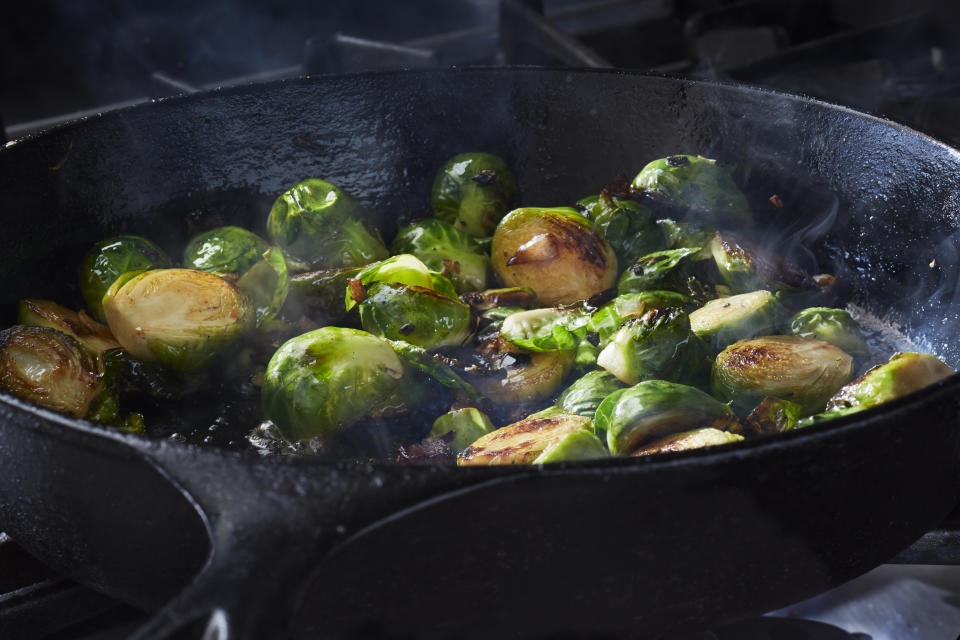 Some 29% of us are more likely to select vegetables if they're described as 'sizzling', 'glazed' or 'tavern-style' [Photo: Getty]