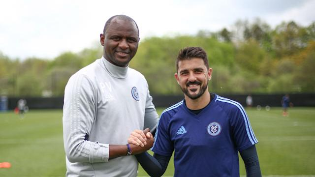 David Villa will stay with New York City until the end of the 2018 MLS season after signing a new one-year deal with Patrick Vieira's side.