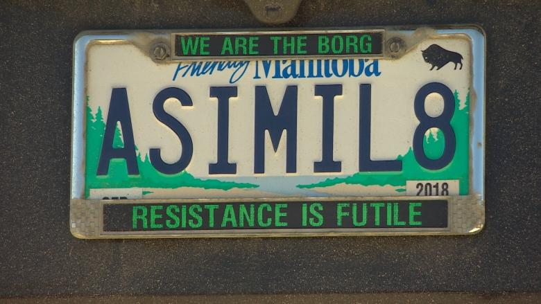 Star Trek-themed 'ASIMIL8' vanity plate insensitive, has to go: Manitoba Public Insurance