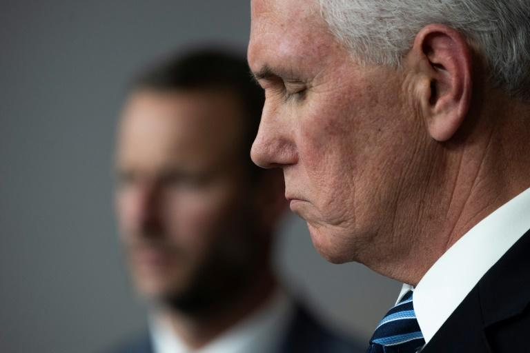 US Vice President Mike Pence has to explain coronavirus and clean up after his boss