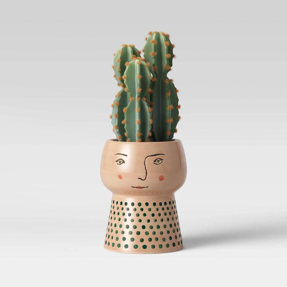 <p>Add character to your decor with this fun <span>Opalhouse Stoneware Family Planter</span> ($8).</p>