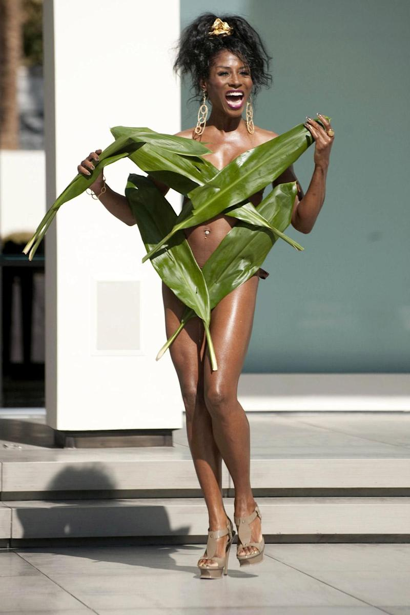 Leave-ing: Sinitta was known for sporting outlandish outfits on the show but has reportedly now been dropped (Rex)