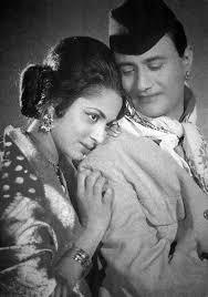 Waheeda Rehman and Dev Anand in Guide