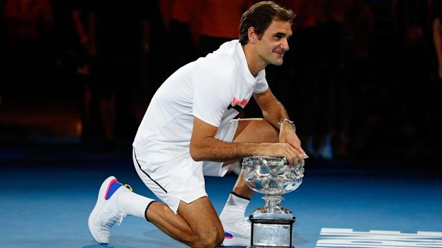 """Federer's form late in his career at the age of 36 is """"truly amazing to watch,"""" according to McEnroe."""