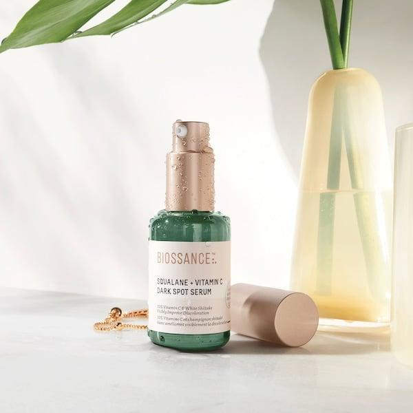 <p>Customers are already loving this <span>Biossance Squalane + 10% Vitamin C Dark Spot Serum</span> ($62). It works to brighten and soften skin, which we can get behind.</p>