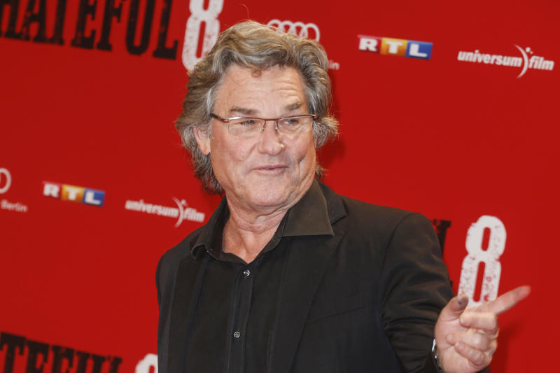 BERLIN, GERMANY - JANUARY 26: Kurt Russel attends the premiere of 'The Hateful 8' at Zoo Palast on January 26, 2016 in Berlin, Germany. (Photo by Isa Foltin/WireImage)