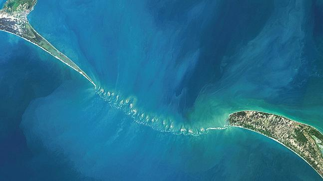 The Sethusamudram project proposed a shipping canal across the Gulf of Mannar, Palk Bay, and the Palk Strait to link the Arabian Sea with the Bay of Bengal.