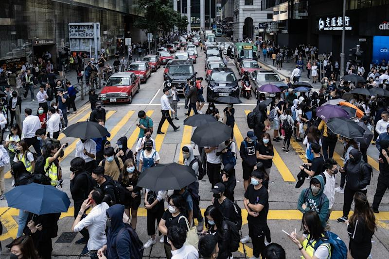 Here's What China Is Telling Its People About Hong Kong Protests