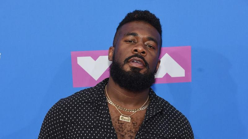 JaQuel Knight attends the 2018 MTV Video Music Awards on August 20, 2018.