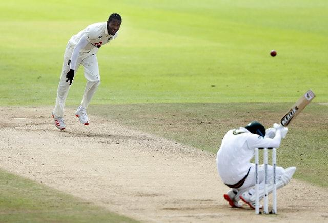 Jofra Archer bowled serious pace in the afternoon session
