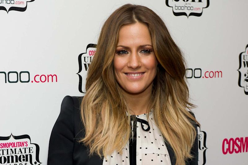 Caroline Flack died on Saturday (AP)