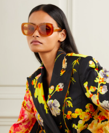 Dries Van Noten round-frame acetate sunglasses, 50% off, US$120.69/ Approx. SGD168 (was US$241.38). PHOTO: NET-A-PORTER