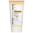 """The slight beige tint on this sunscreen ensures that it doesn't leave a white cast on any skin tone. While it doesn't offer much in the coverage department, it has a nice blurring effect that's perfect for makeup-free days thanks to the diamond powder in the formula. It also includes vitamins A, C, and E for extra antioxidant benefits. $34, Peter Thomas Roth. <a href=""""https://shop-links.co/1739843487658068762"""" rel=""""nofollow noopener"""" target=""""_blank"""" data-ylk=""""slk:Get it now!"""" class=""""link rapid-noclick-resp"""">Get it now!</a>"""