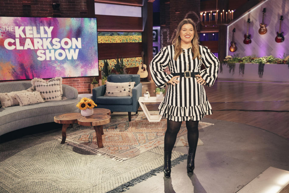 Kelly Clarkson's show is taking over Ellen DeGeneres' programme's time slot. (Photo by: Weiss Eubanks/NBCUniversal/NBCU Photo Bank via Getty Images)