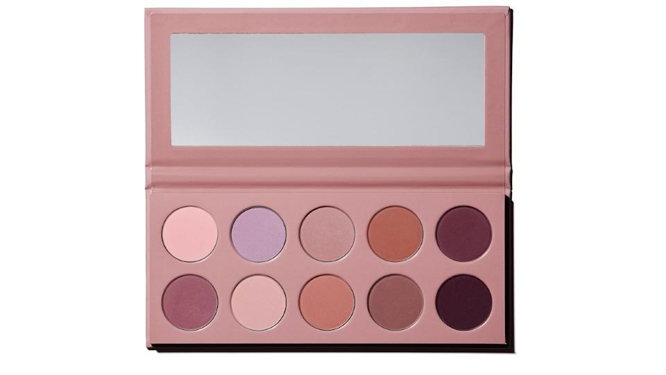 KKW Beauty Matte Mauve Pressed Powder Palette, $45.