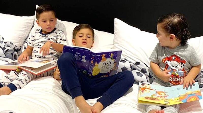 Lionel Messi Shares Adorable Picture of His Kids, Urges Everone to Stay at Home (See Post)