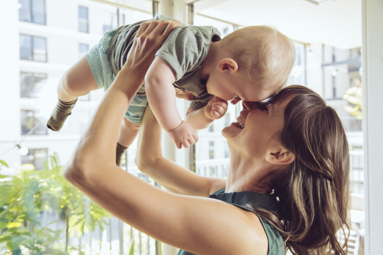 There are some benefits to being an older mother including potential financial stability. (Getty Images)