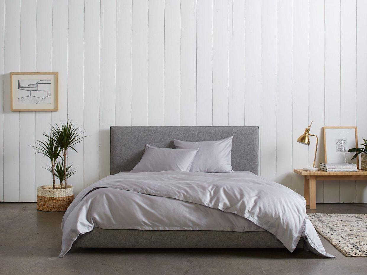 "<p><strong>The Gift: Sateen Sheet Set</strong><br>Your S.O. will thank you after taking a shared snooze snuggled up beneath this ultra luxurious, 100% Egyptian cotton sheet set.</p> <br> <br> <strong>Parachute</strong> Sateen Venice Set, $339, available at <a href=""https://www.parachutehome.com/products/sateen-venice-set"" rel=""nofollow noopener"" target=""_blank"" data-ylk=""slk:Parachute"" class=""link rapid-noclick-resp"">Parachute</a>"
