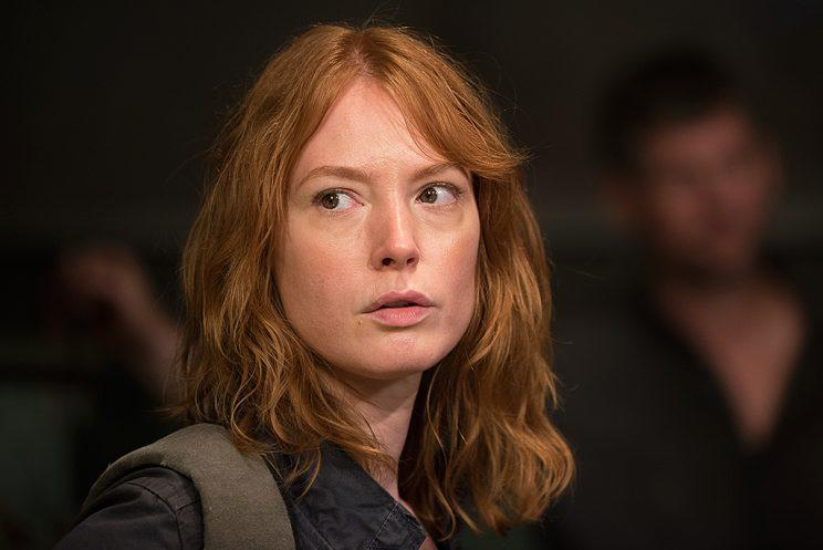 Alicia Witt as Paula in AMC's The Walking Dead . (Photo Credit: Gene Page/AMC)