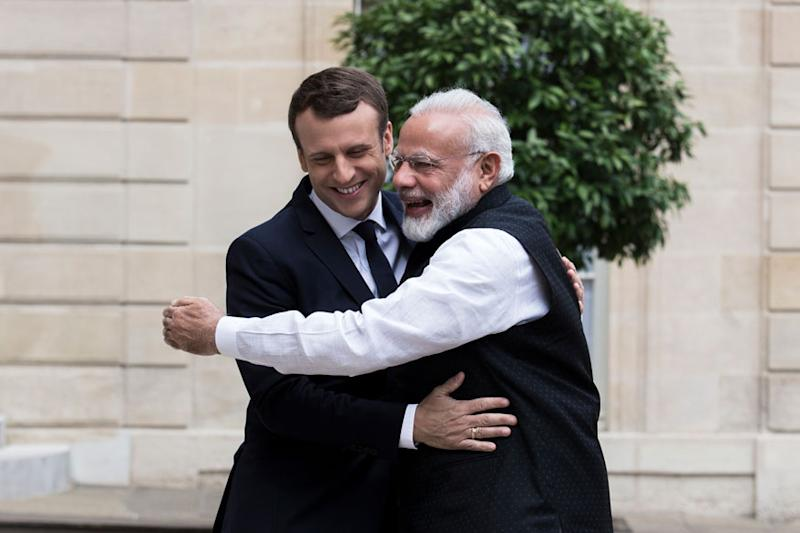 French Prez's India Visit: Macron-Modi to Strengthen Defence, Energy Ties Amid Asian Power Struggle