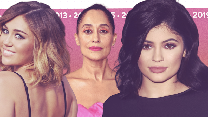 The Biggest Beauty Trends of the 2010s -- Contouring, Ombre Hair and More