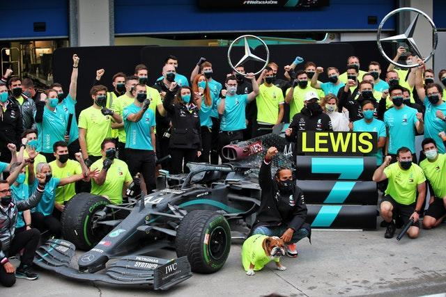 Lewis Hamilton won a record seventh title in 2020