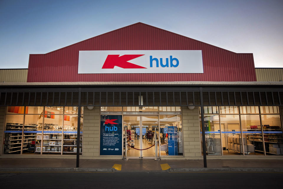 One of the new K hub stores, which have replaced three Target Country stores in Victoria.