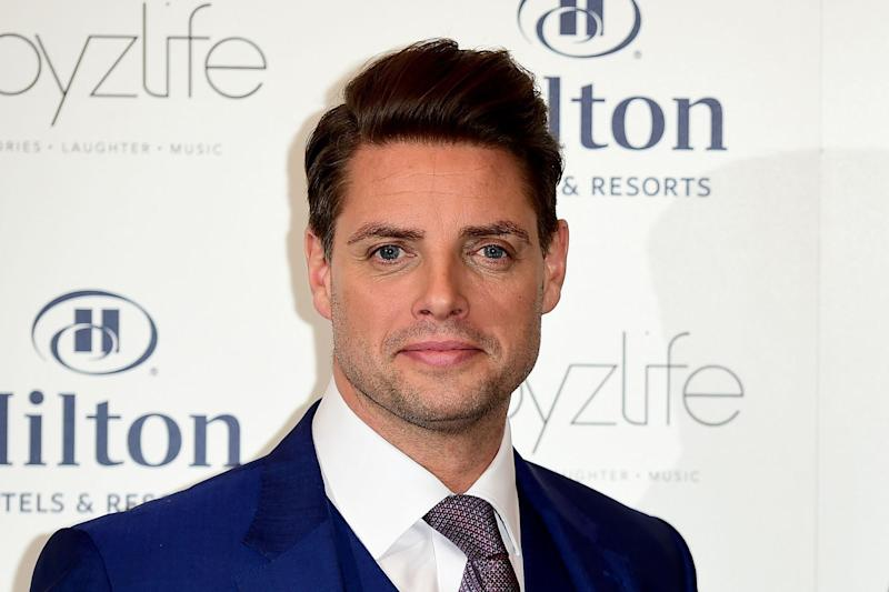 Altercation: Keith Duffy of Boyzone was 'attacked' by a group of men at a nightclub: PA