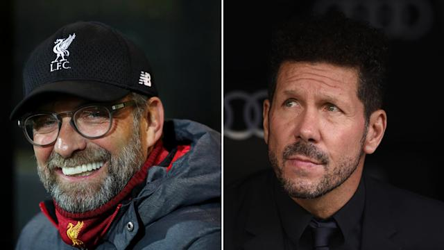 The Reds boss admits he and the Rojiblancos trainer share some similarities but insists he is not as wild on the touchline