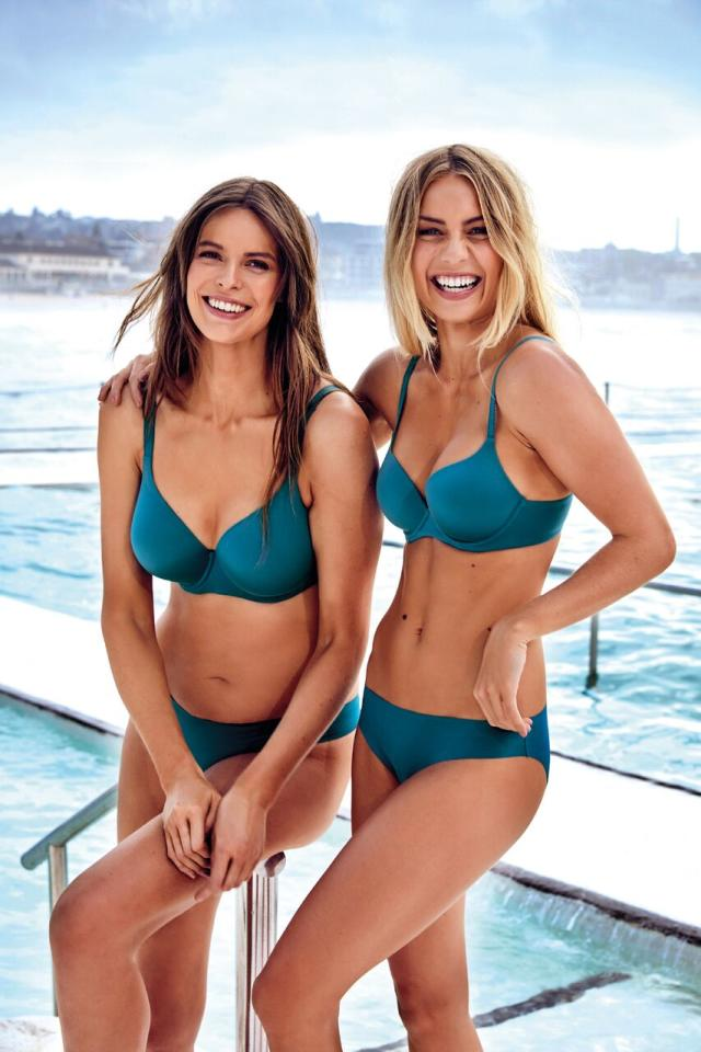 <p>The Block winner Elyse Knowles has appeared in the latest Bras N Things campaign for the lingerie brand's latest collection Body Bliss. The reality star posed alongside models Samantha Harris, Robyn Lawley, Bianca Cheah and Elle Ferguson.<br />Source: Bras N Things </p>