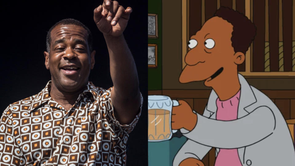 Alex Désert voices Carl in the latest episode of 'The Simpsons'. (Credit: Harmony Gerber/Getty Images/Fox)