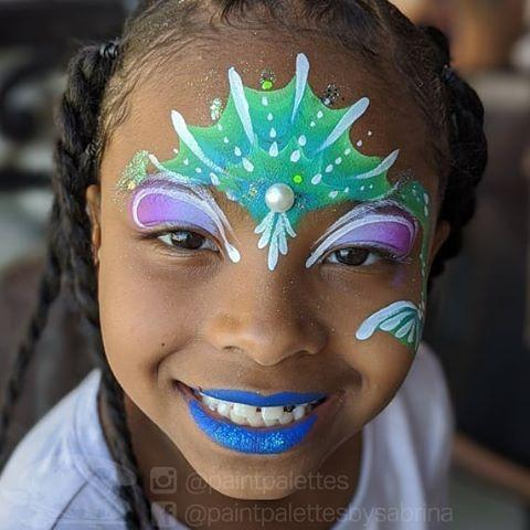 "<p>Turn your little one into a little mermaid with this colorful mermaid face paint — bonus points if you add a pearl. </p><p><a class=""link rapid-noclick-resp"" href=""https://www.amazon.com/Face-Paint-Kit-Kids-Professional/dp/B07D97CL4B?tag=syn-yahoo-20&ascsubtag=%5Bartid%7C10055.g.28126244%5Bsrc%7Cyahoo-us"" rel=""nofollow noopener"" target=""_blank"" data-ylk=""slk:SHOP COLORFUL FACE PAINT"">SHOP COLORFUL FACE PAINT</a></p><p><a href=""https://www.instagram.com/p/B9pg1a8pO9W/&hidecaption=true"" rel=""nofollow noopener"" target=""_blank"" data-ylk=""slk:See the original post on Instagram"" class=""link rapid-noclick-resp"">See the original post on Instagram</a></p>"