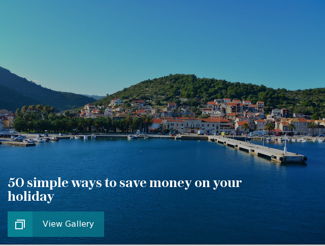 50 simple ways to save money on your holiday