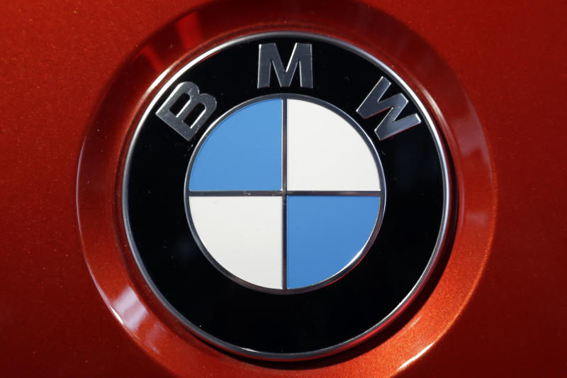 "FILE - This Tuesday, March 21, 2017, file photo shows the logo of German car manufacturer BMW on a BMW M6 Coupe car during the company's earnings news conference in Munich, Germany. Bill O'Reilly's top-rated Fox News show may be starting to feel a financial sting after allegations that he sexually harassed several women. BMW said Tuesday, April 4, 2017, that they are joining the other advertisers that are pulling their ads from ""The O'Reilly Factor."" (AP Photo/Matthias Schrader, File)"