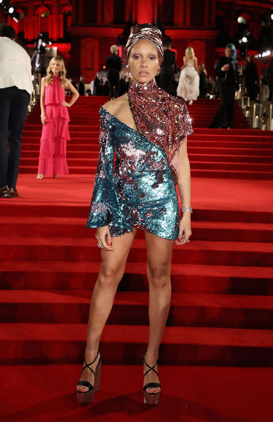 "<p><strong>The Red Carpet Maven: Halpern<br></strong> Michael Halpern began his career in New York after graduating with from the Parsons School of Design. Straight after Parsons, he went on to work at J.Mendel and Oscar de la Renta before moving to London to get his Masters Degree at Central Saint Martins.</p><p>It was his Masters collection that garnered much attention and was featured in <em>AnOther</em>, <em>Dazed</em>, <em>LOVE</em>, <em>CR Fashion Book</em>, and <em>Self Service</em> magazines. He also caught the attention of Versace, and after graduating from CSM, Halpern was hired to consult on its couture label, Atelier Versace.</p><p>In February 2017, Michael debuted his eponymous brand Halpern during London Fashion Week to critical acclaim. Glittering, glamorous, feminine and luxurious, earlier this month, Adwoa Aboah chose a Halpern piece to wear to the <a href=""http://www.refinery29.com/2017/12/183927/british-fashion-awards-2017-winners?geo=us&_ga=2.224301464.285858124.1513563908-1787511592.1488467768"" rel=""nofollow noopener"" target=""_blank"" data-ylk=""slk:Fashion Awards 2017"" class=""link rapid-noclick-resp"">Fashion Awards 2017</a>. At the event, Halpern won the award for British Emerging Talent, a sign that his success has really just begun.</p><span class=""copyright"">Photo: Mike Marsland/BFC/Getty Images</span>"
